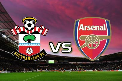 Southampton - Arsenal:  2