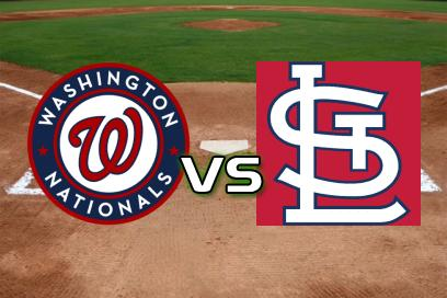 Washington Nationals - St. Louis Cardinals:  2