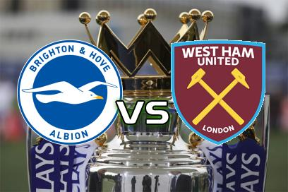 Brighton & Hove Albion - West Ham United:  (AH: 0,0) 2