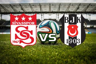 Sivasspor - Besiktas:  Over 2,5 Mål