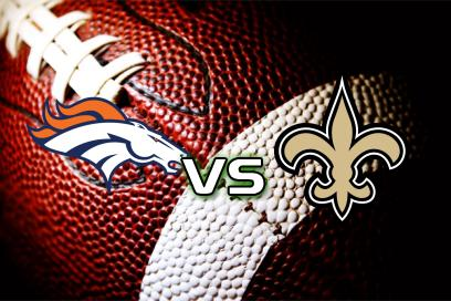 Denver Broncos - New Orleans Saints:  Over 42,5 Mål