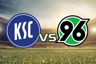 Karlsruher SC - Hannover 96:  Over 10,0 Hjørnespark Asian