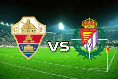 Elche - Real Valladolid:  Over 5,5 Kort
