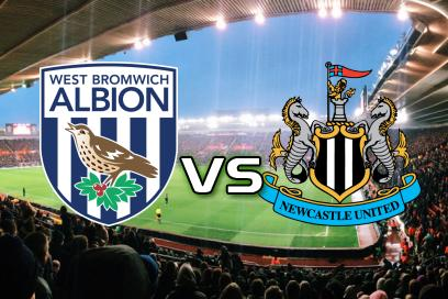 West Bromwich Albion - Newcastle United:  1