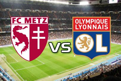 Metz - Lyon:  Draw no bet: 1