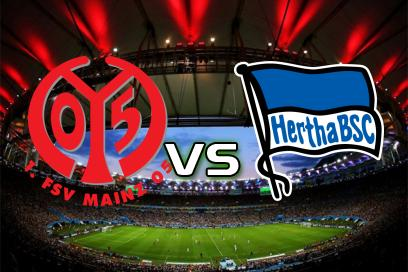 Mainz 05 - Hertha Berlin:  X