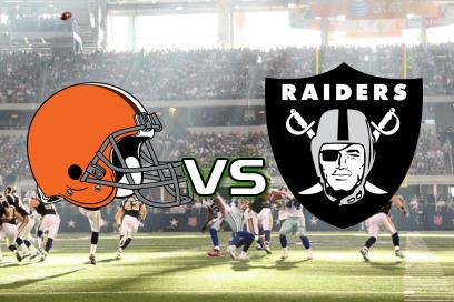 Browns - Raiders:  1