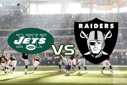 New York Jets - Las Vegas Raiders:  Denzel Mims scorer TD